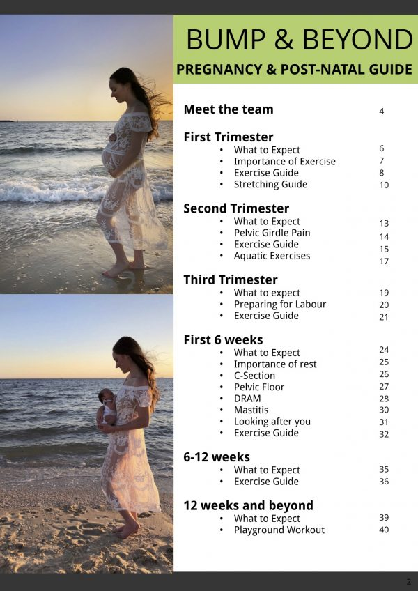 PMPP Pregnancy and Post-Natal Guide Ebook – page 2